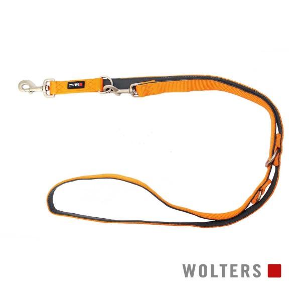 WOLTERS Leine Prof.Comf. 200cmx10mm mango/schiefer
