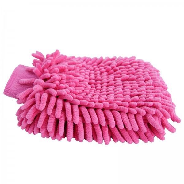 Putzhandschuh Mikrofaser pink