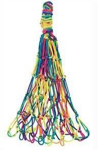 Heunetz Hippie aus Nylon