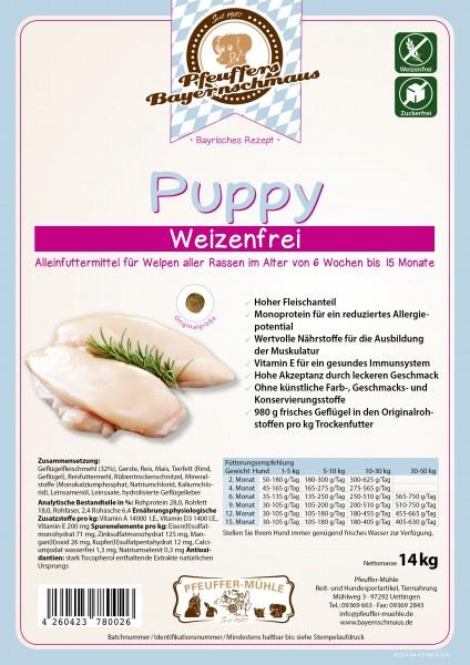 Pfeuffers Puppy weizenfrei 14kg