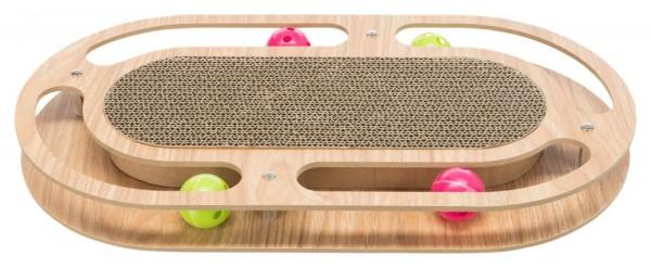 Trixie Kratzpappe mit Holzrahmen 46 × 4 × 25 cm