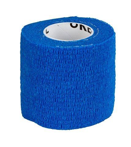 Equilastic selbsthaftende Bandage 5 cm blau