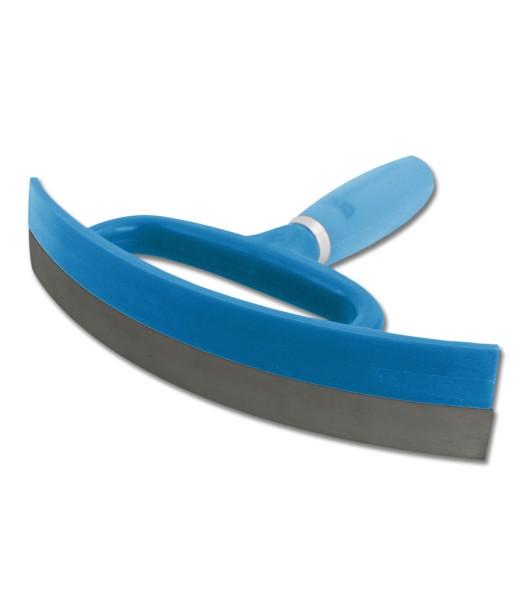 Schweißmesser mit Gelgriff azurblau