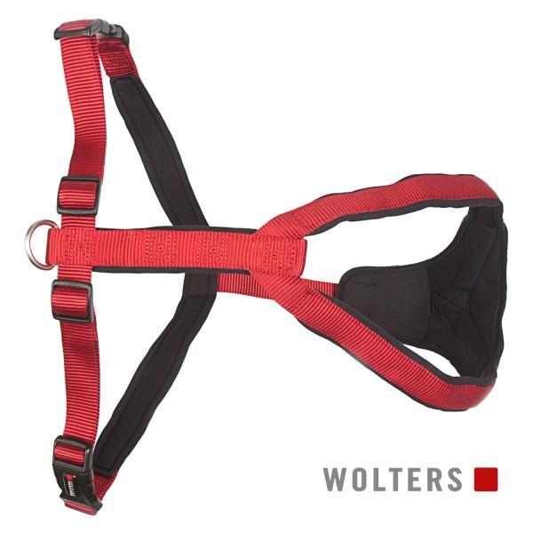 WOLTERS Geschirr Prof. Comfort 50-60 rot/schwarz