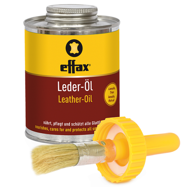 effax® Leder-Öl Dose mit Pinsel 475 ml