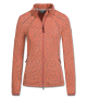 FASHION FLEECEJACKE VALENCIA, orange/silb, Gr. XS
