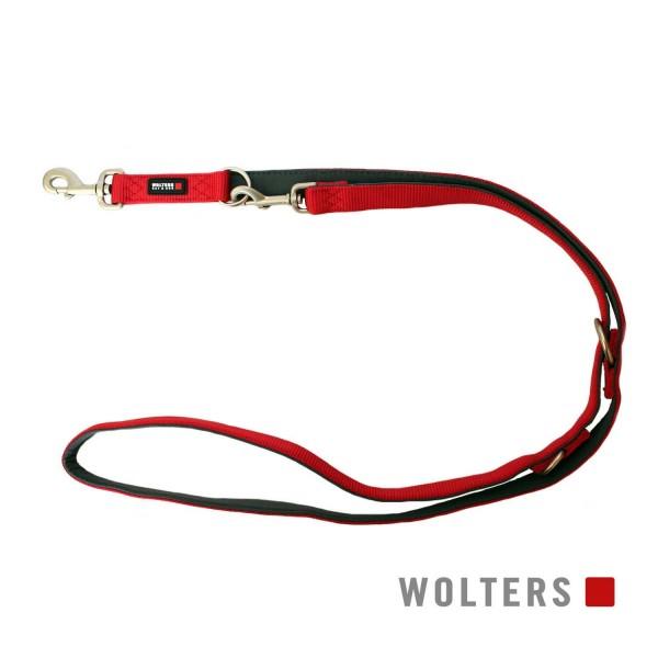 WOLTERS Leine Prof. Comf. 200cmx20mm cayenne/grau