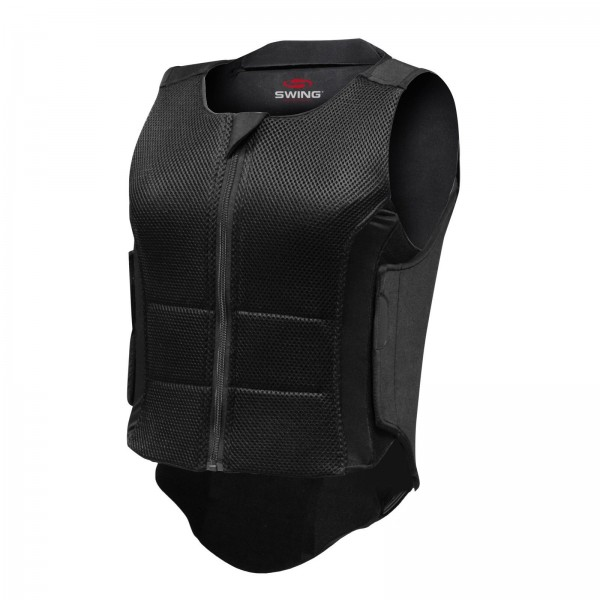 Swing Rückenprotektor P07, schwarz, Gr. Kind XL