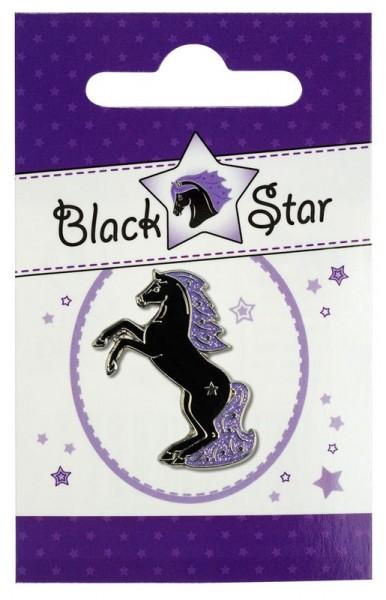 """Pferde-Pin """"Black Star"""""""