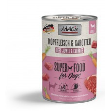 MAC´s Dog Kopffleisch & Karotten 400g