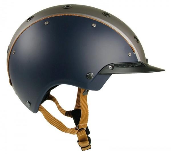 Casco Reithelm Champ- 3 blau-anthr Gr. S 52-56cm