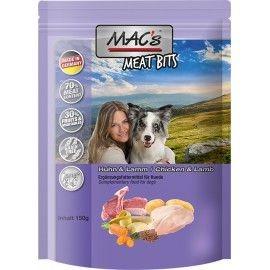 MAC''S MEAT BITS HUHN & LAMM 120g
