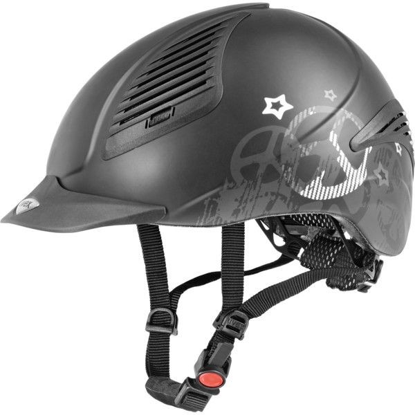 Uvex exxential peace black-silver Gr. S-M