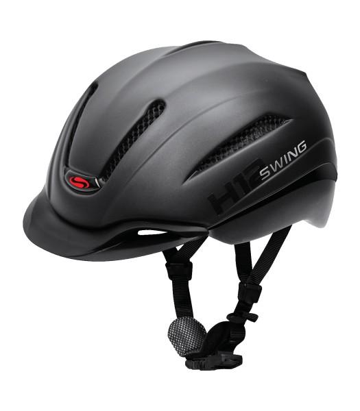 Swing H12 pro Ride & Bike schwarz matt 53 - 59