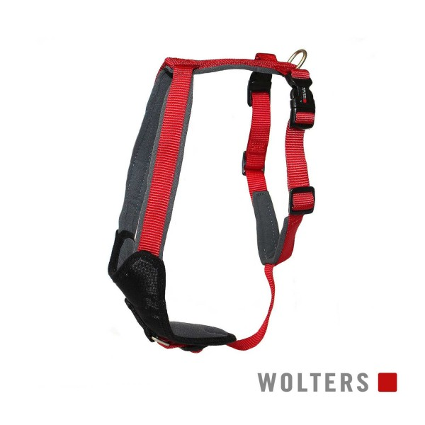 WOLTERS Geschirr Prof.Comf 50-60cm cayenne/grau
