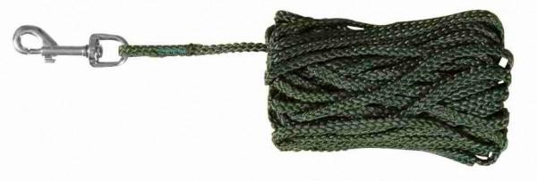 Trixie Schleppleine Nylon rund 10 m ø 5 mm grün