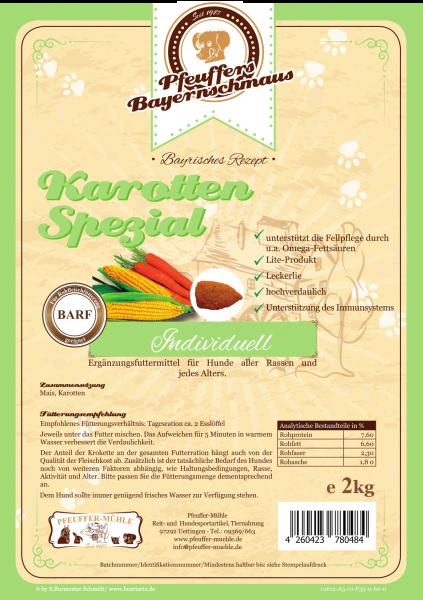 Pfeuffers Hundefutter Karotten-Spezial 2kg