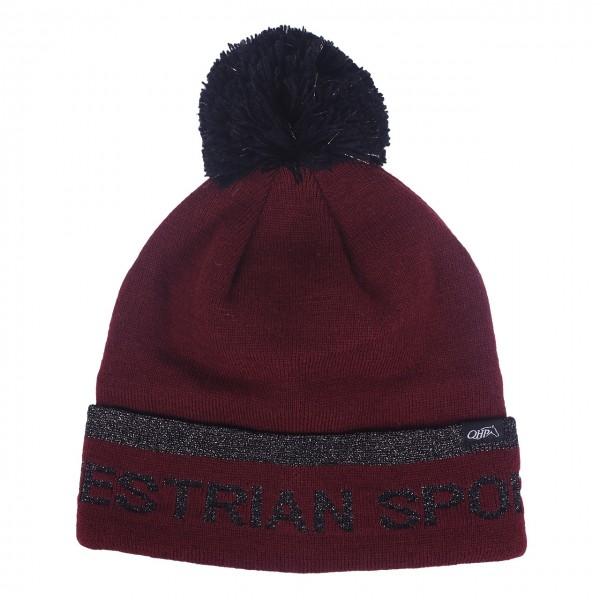 Mütze Lisette Bordeaux