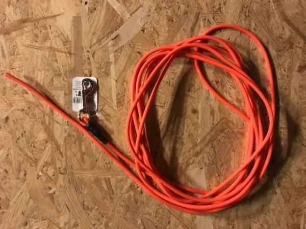 fwf BioThane-Leine rund o.Handschlaufe 6,4mm/600cm