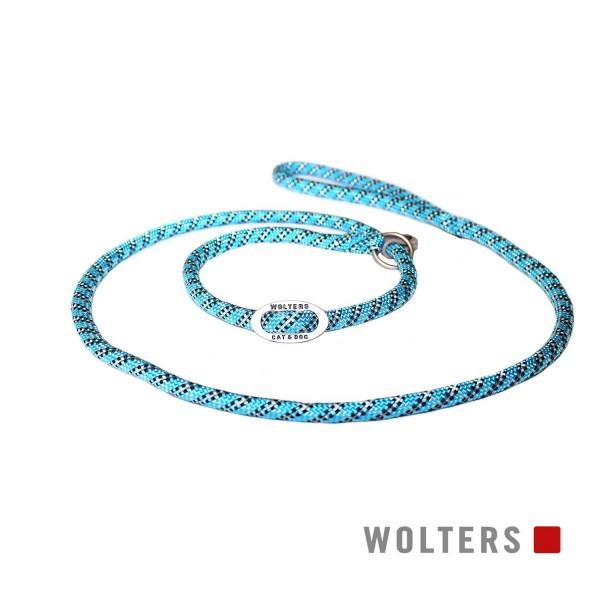 WOLTERS Moxonleine Everest reflekt aqua / sw 180x9