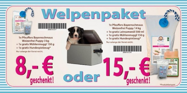 Pfeuffers Bayernschmaus Puppy Welpenpaket 14kg