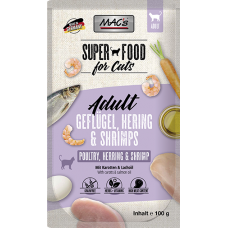 MAC´s Cat Pouch Pack Hering & Shrimps 100g