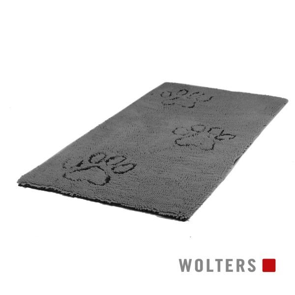 WOLTERS Dirty Dog Runner 120 x 60 cm grau