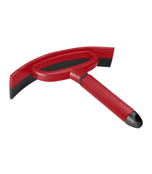 SCHWEISSMESSER rubinrot/grau 21cm