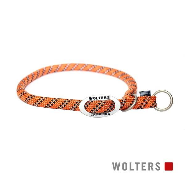 WOLTERS Schlupfhalsband reflekt. orange/schw 50cm