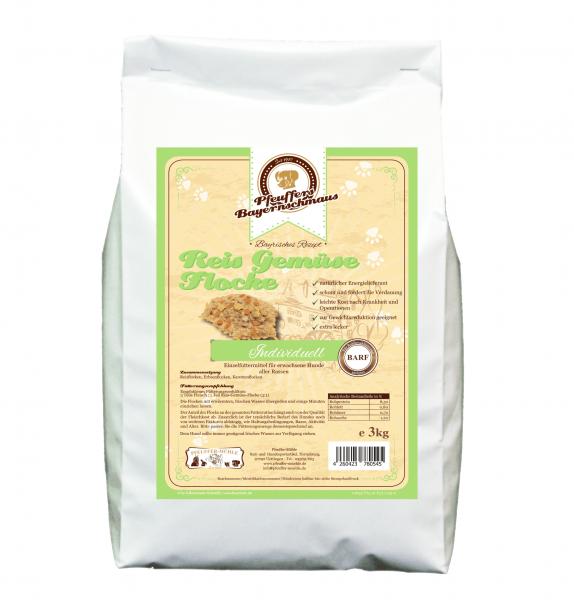 Pfeuffers Hundefutter Reis Gemüse Flocke 3kg