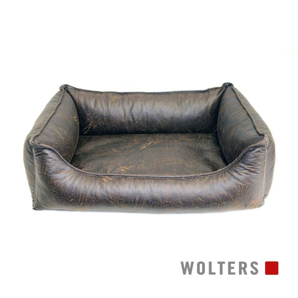 WOLTERS Senator Lounge Gr. L 105x80cm antik-braun