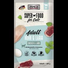 MAC´s Cat Pouch Pack Pouch Pack Huhn & Lamm 100g