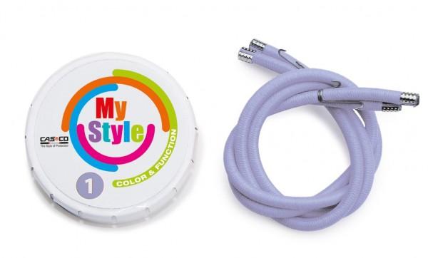 MyStyle Casco Streifen flieder Gr. 1
