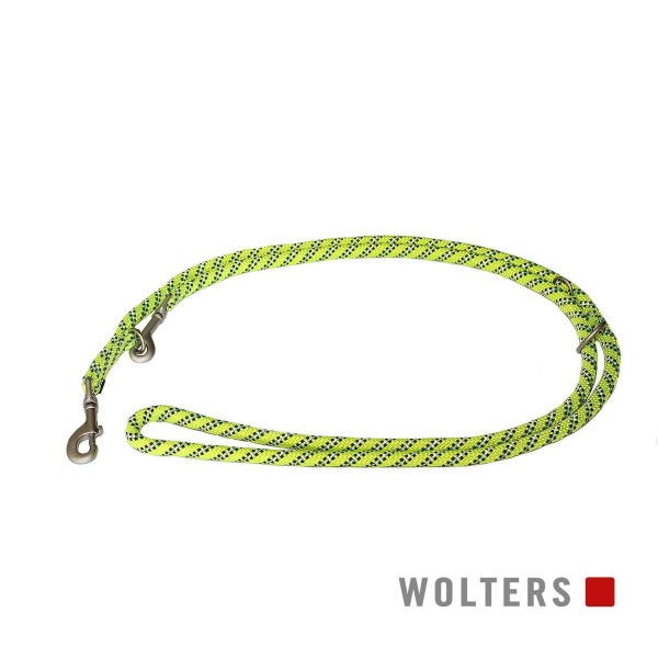 WOLTERS Leine Everest reflek. 300cmx9mm gelb/sw