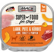 MAC´s Dog Schale Lamm, Pute & Kürbis 150g