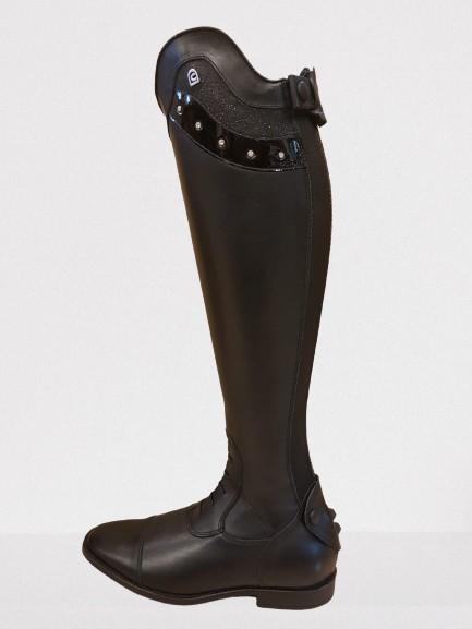 CAVALLO Stiefel LinusSlim L+S+B schw H49 W37 5-5,5