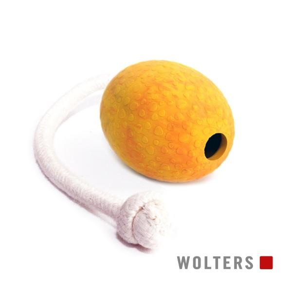 WOLTERS Straußen-Ei am Seil Gr.M 80x60mm mango