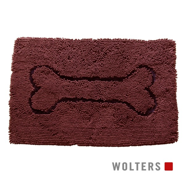 WOLTERS Dirty Dog Doormat Medium 78 x 50 cm braun
