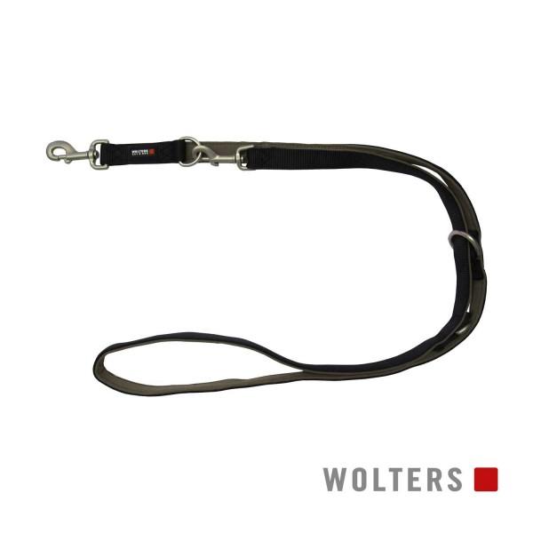 WOLTERS Leine Prof.Comf. 200cmx10mm schwarz/braun