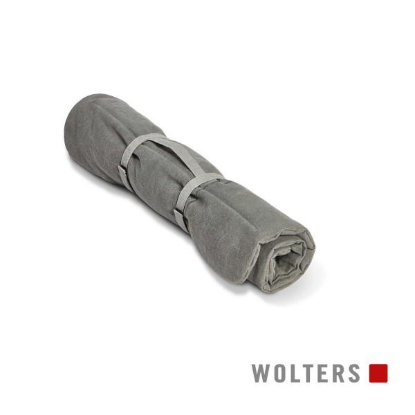WOLTERS Green Line Reisedecke 100 x 70cm steingrau