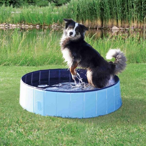 Trixie Hundepool 80 x 20 cm, hellblau/blau