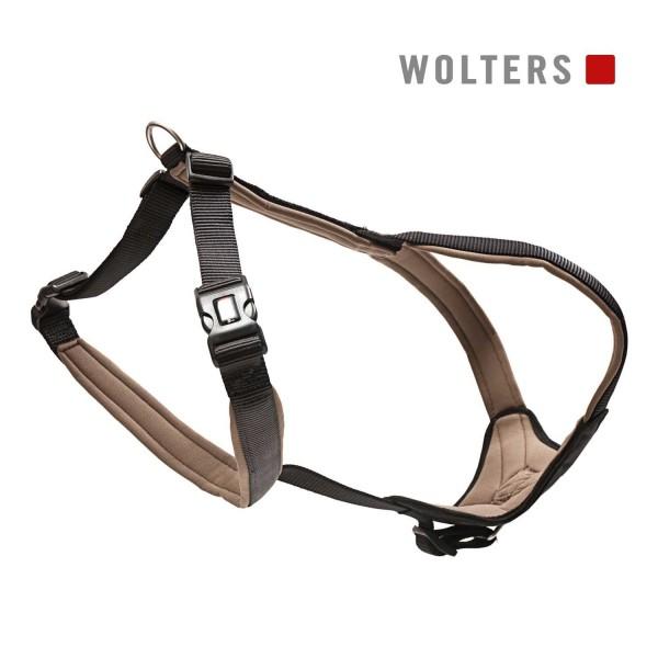 WOLTERS Geschirr Prof.Com 70-85cm schwarz/braun