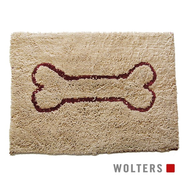WOLTERS Dirty Dog Doormat Small 58 x 40 cm sand