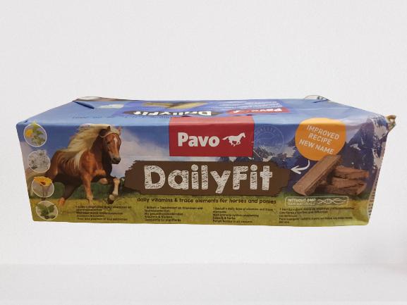 Pavo DailyFit Mineral Brickets 4,2kgGratis Putzbox