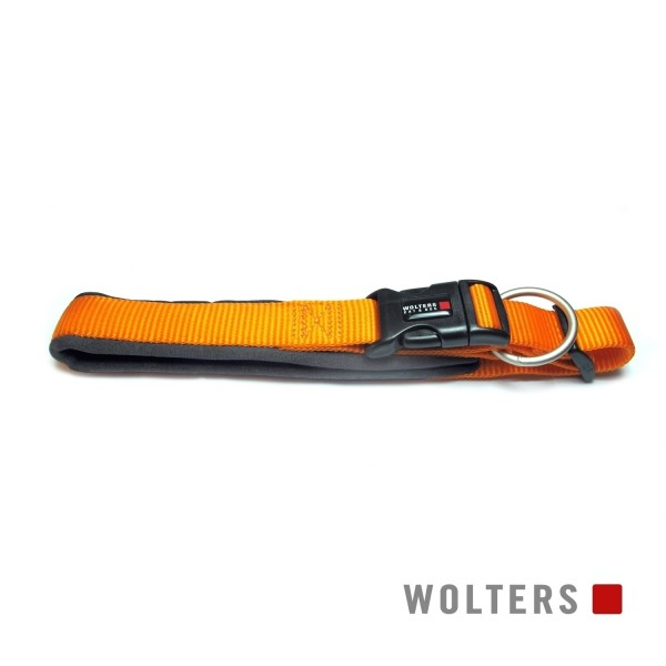 WOLTERS Halsband Prof.Comf. 40-45cm mango/schiefer