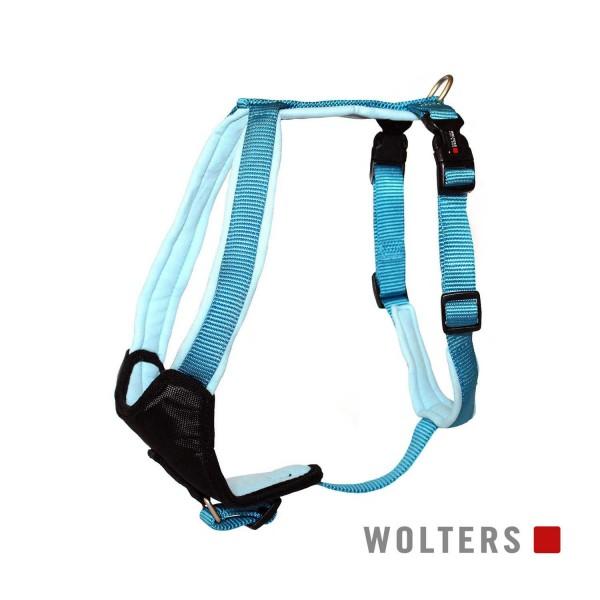 WOLTERS Geschirr Prof.Com 60-70cm aqua/azur