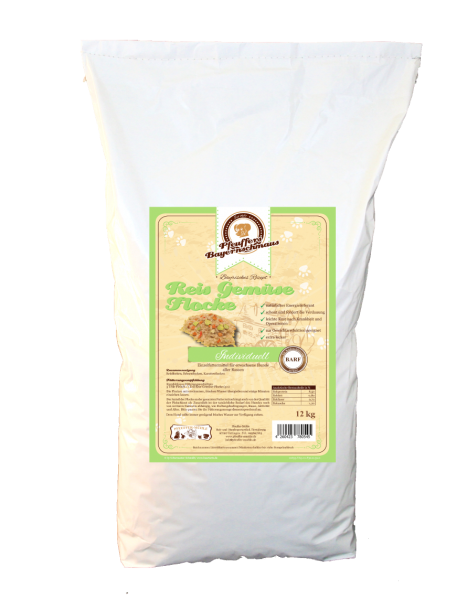 Pfeuffers Hundefutter Reis Gemüse Flocke 12kg