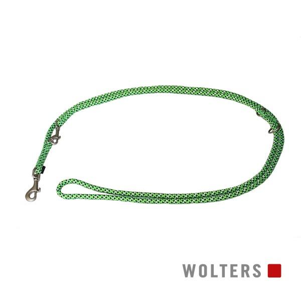 WOLTERS Leine Everest reflekt lime/schwarz 200
