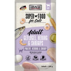 MAC´s Cat Pouch Pack Hering & Shrimps 100g
