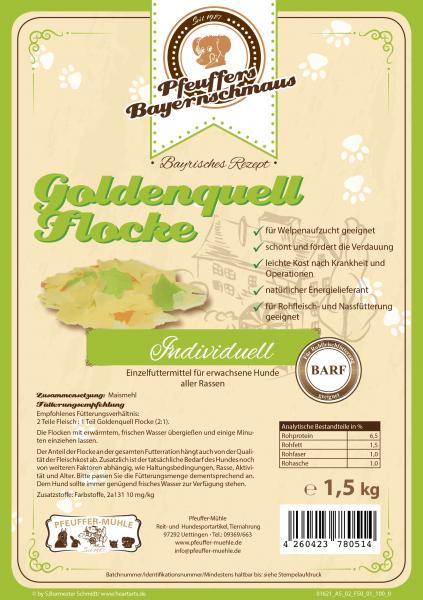 Pfeuffers Goldenquell Flocke 1,5kg
